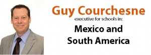 Guy Courchesne of Teachers Latin America